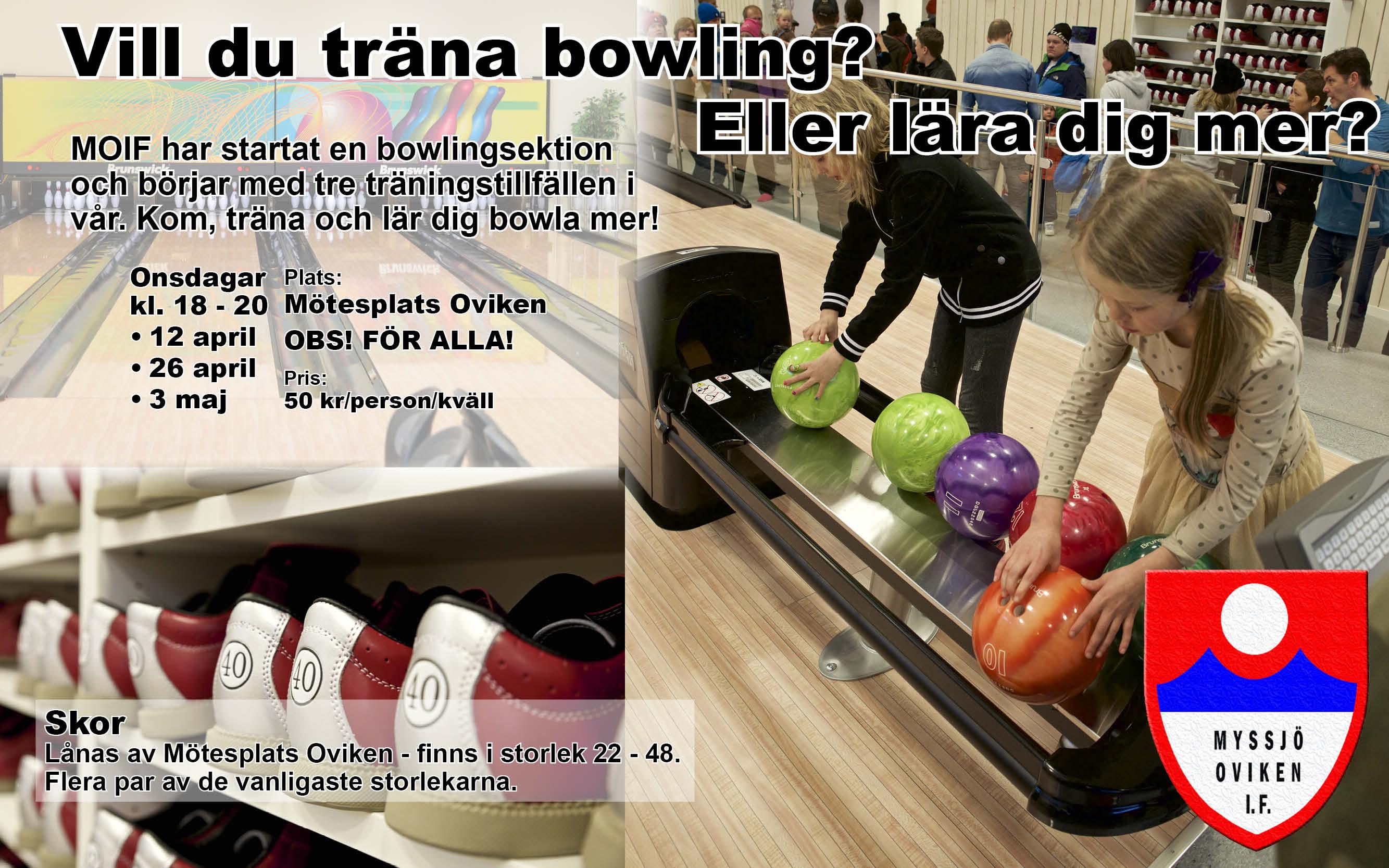 Bowlingträning VT 2017