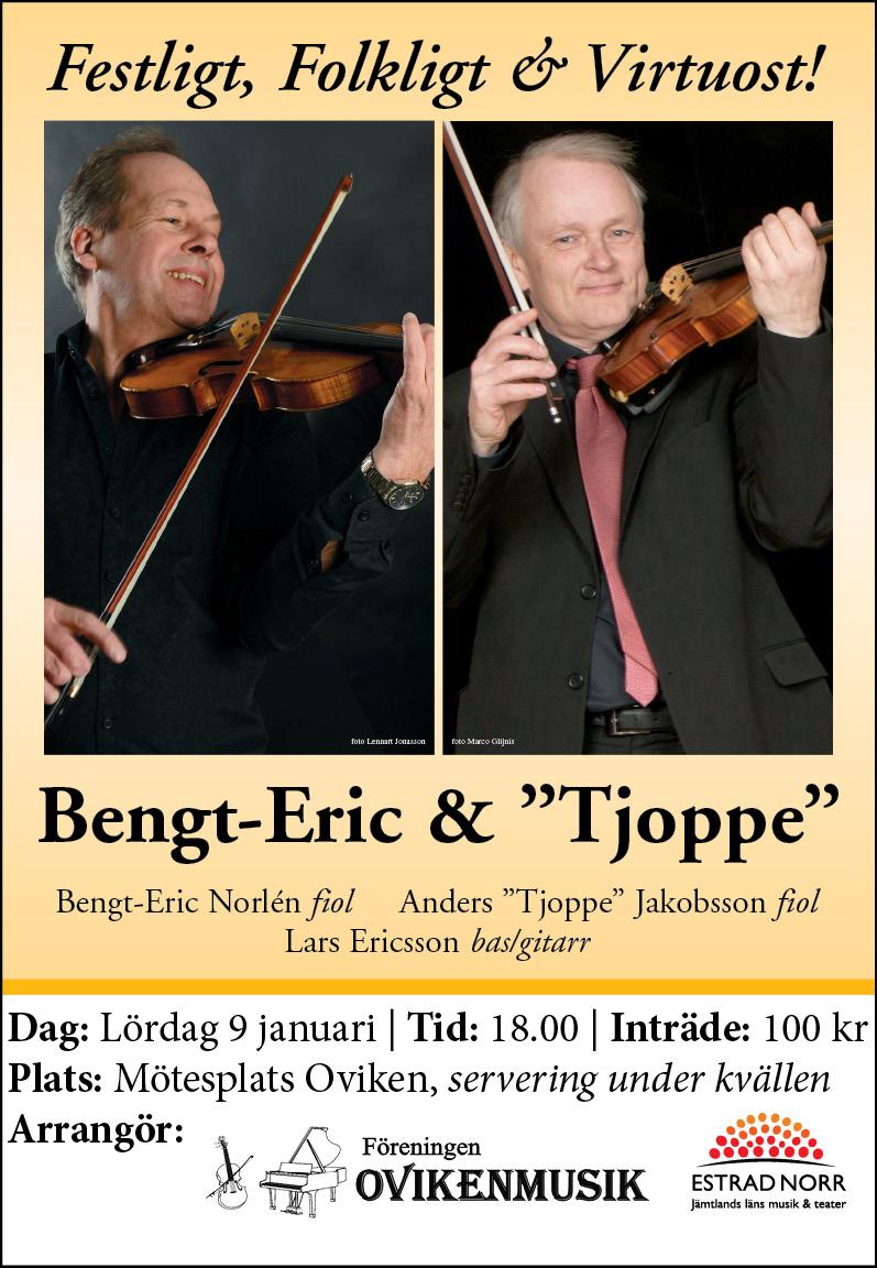 """Bengt- Eric & """"Tjoppe"""""""