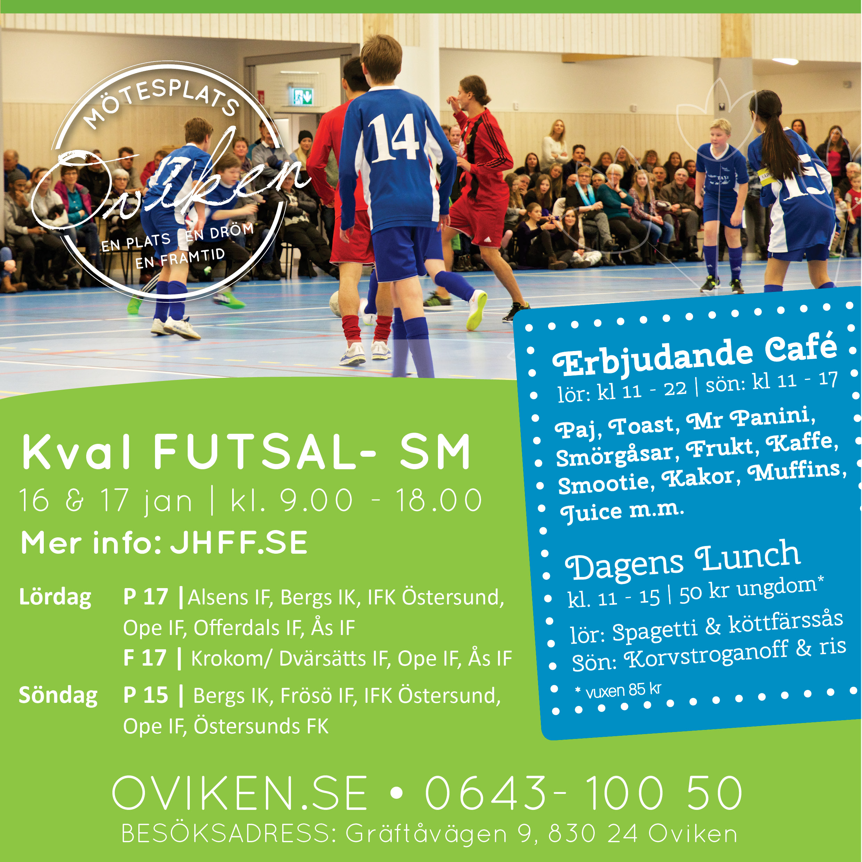 Kval till Futsal- SM 2016